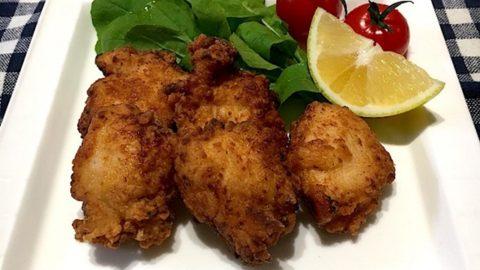鶏胸肉の塩麹唐揚げ